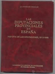 Las diputaciones provinciales en España